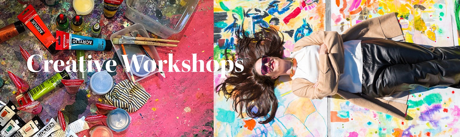 Creative Workshops - A creative mind is a happier mind
