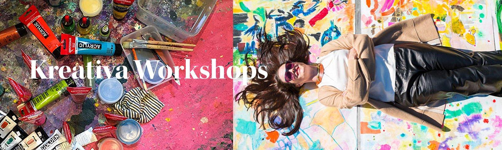 Kreativa workshops