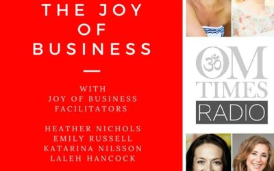 Choosing Joy in Business – Radio show med Katarina Nilsson