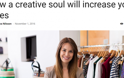 Article: How a creative soul will increase your sales