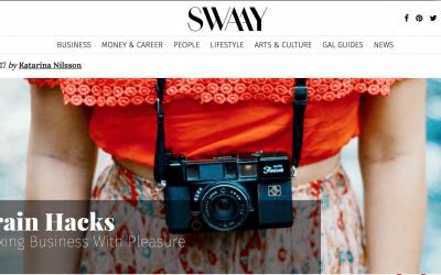 Artikel i Swaay : 4 sätt att förena nytta med nöje